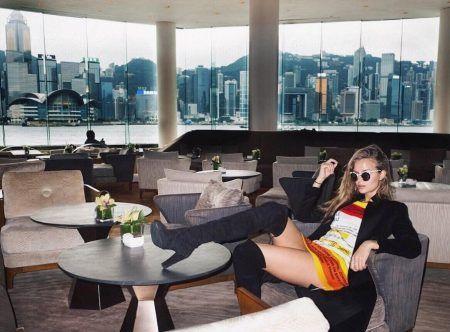 ヴィクトリアズシークレット ヴィクシー モデル ジョセフィン・スクライヴァ― 中国