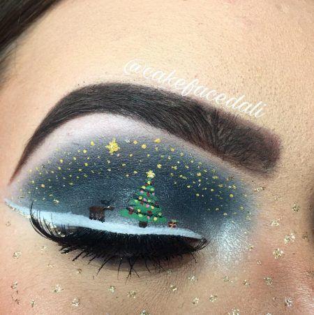 クリスマス・アイメイク クリスマスの夜