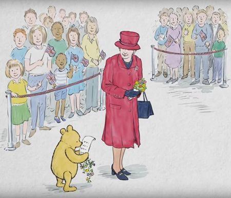 エリザベス女王  Queen Elizabeth イギリス 2016年 総まとめ 総集編 1年振り返り くまのぷーさん 絵本 特別 プーさんとエリザベス女王は同い年 バッキンガム宮殿