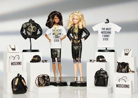 モスキーノ Moschino バービー人形 Barbie コラボ 過去のコラボ集 ブラックバービー