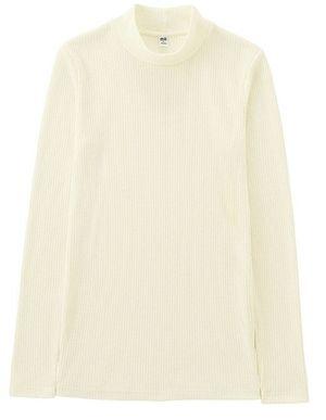 ケンダル・ジェナー Kendall Jenner ユニクロ Uniqlo リブハイネックネックセーター 白 セレブ プチプラ 日本 ファストファッション トップス スタイル ファッション