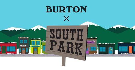 Burton x South Park バートンxサウスパーク コラボライン
