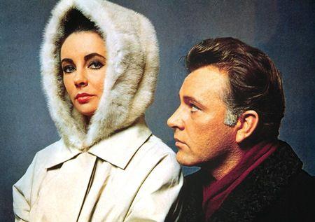 映画『予期せぬ出来事』 エリザベス・テイラーとリチャード・バートン
