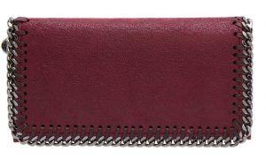 Stella McCartney(ステラ・マッカートニー) ファラベラ・シャギー・ディア・フラップ・ウォレット セレブ 愛用 財布 サイフ