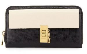 Chloé(クロエ) ドリュー・バイカラー・ジップ・アラウンド・ウォレット セレブ愛用 サイフ 財布