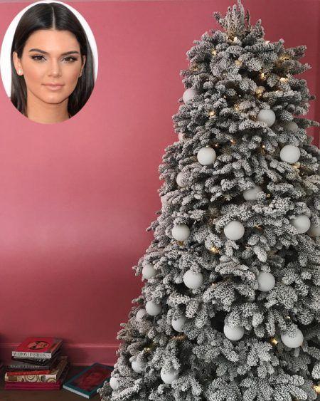 ケンダル・ジェナー Kendall Jenner クリスマスツリー 2016