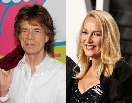 ミック・ジャガー ジェリー・ホール Mick Jagger  Jerry Hall
