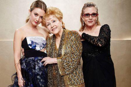 キャリー・フィッシャー デビー・レイノルズ Carrie Fisher Debbie Reynolds ビリー・ラード Billie Lourd