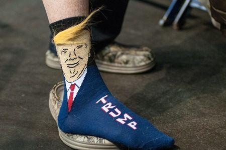 ドナルド・トランプ 靴下