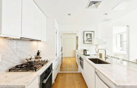 ジジ・ハディッド Gigi Hadid 自宅 キッチン
