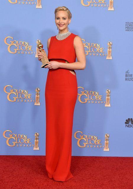 ゴールデン・グローブ ゴールデン・グローブ レッドカーペット ジェニファー・ローレンス Jennifer Lawrence