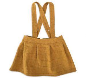 Mabo サスペンダー付きスカート