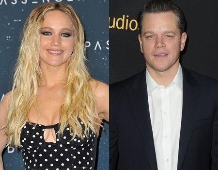 ジェニファー・ローレンス マット・デイモン Jennifer Lawrence マット・デイモン Matt Damon