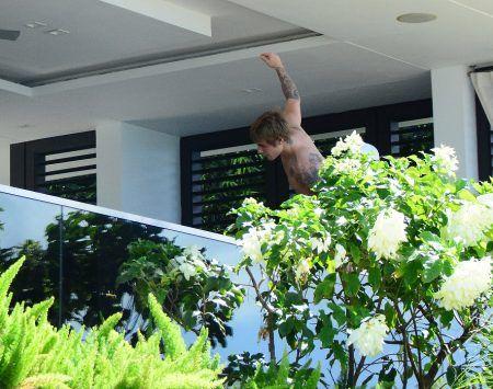 ジャスティン・ビーバー Justin Bieber ビーチバケーション バルバドス