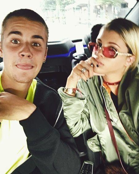 ジャスティン・ビーバー ソフィア・リッチー Justin Bieber Sofia Richie