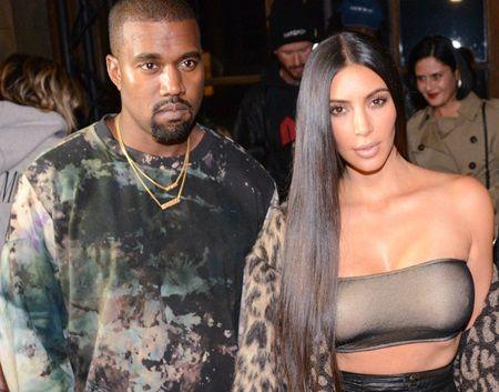 カニエ・ウェスト キム・カーダシアン Kanye West kim Kardashian