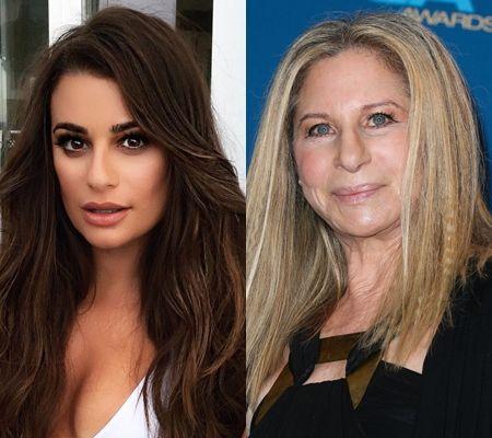 リア・ミシェル バーブラ・ストライサンド Lea Michele Barbra Streisand