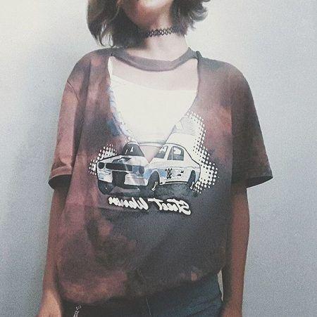 リメイクTシャツ リップド