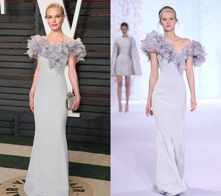 ケイト・ボスワース オートクチュール Haute Couture  Ralph & Russo  2016 Spring