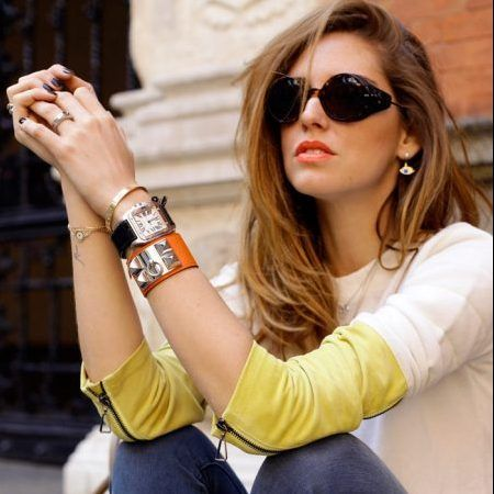 キアラ・フェラー二 Chiara Ferragni Cartier カルティエ Love ブレスレット