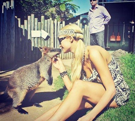 パリス・ヒルトン オーストラリア Paris Hilton