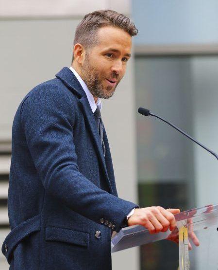 ライアン・レイノルズ Ryan Reynolds ハリウッドの殿堂