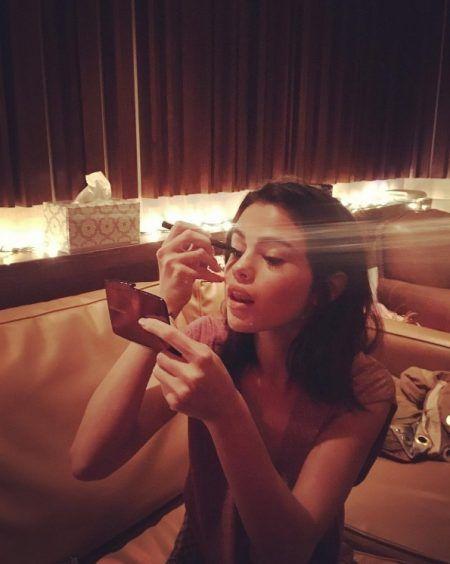 セレーナ・ゴメス Selena Gomez レコーディング スタジオ