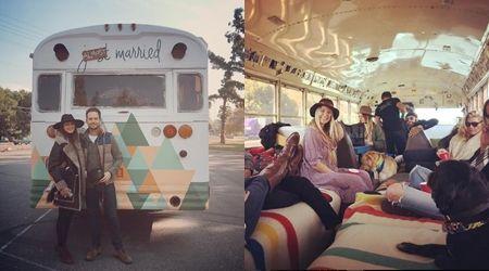 トローヤン・ベリサリオ ウェディング Troian Bellisario 送迎バス スクールバス