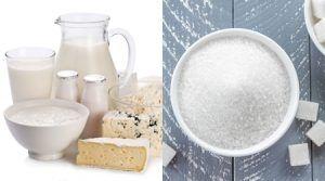 乳製品 砂糖
