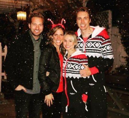 クリスマス おそろいパジャマ クリスティン・ベル Kristen Bell ダックス・シェパード Dax Shepard