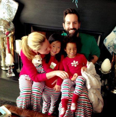 クリスマス おそろいパジャマ キャサリン・ハイグル Katherine Heigl