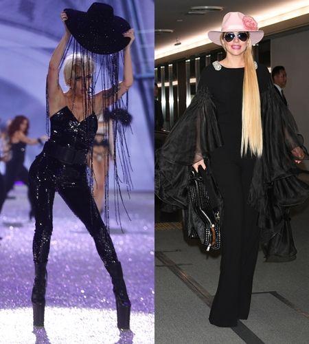 レディー・ガガ Lady Gaga  ヴィクトリアズ・シークレット  Victoria's Secret ファッションショー ハット 1億円 Gladys Tamez Millinery グラディス・タイムズ・ミリネリー Swarovski スワロフスキー コラボ パフォーマンス ジョン・ウェイン 来日ハット ピンク