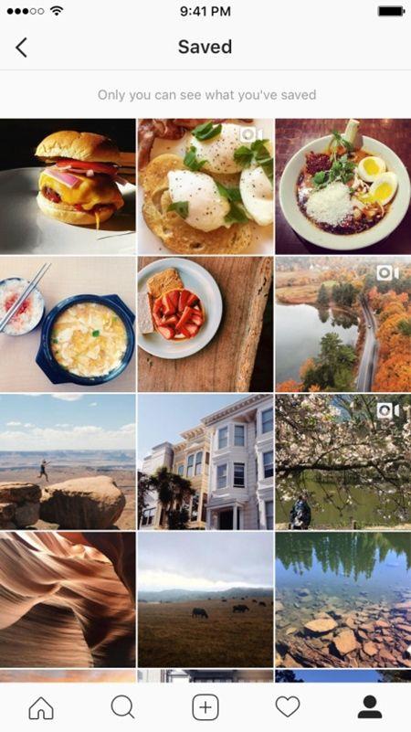 インスタグラム Instagram 新機能 新サービス 画像保存 ギャラリー アカウント 誰にもみられない 簡単 利用者6億人