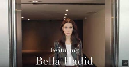 ディオール Dior ベラ・ハディッド Bella Hadid  クッションファンデーション 毛穴レス 軽いつけ心地 メイク コスメ 最新動画 動画 オススメ セレブ