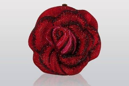 Judith Leiber ジュディス·リーバー クラッチバッグ バッグ 可愛い セレブ愛用 海外 レッドカーペット おすすめ バラ