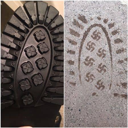 ブーツの底 ナチス鉤十字 リコール