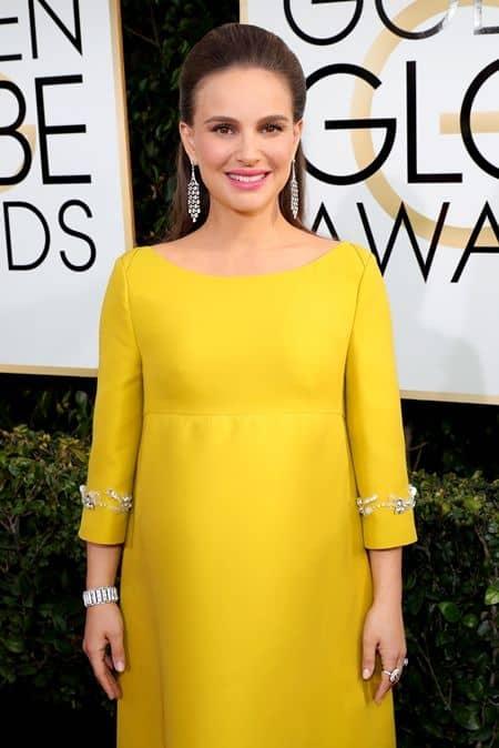 ナタリー・ポートマン Natalie Portman ゴールデングローブ賞 ティファニー Tiffany ジュエリー 人気 ネックレス 指輪
