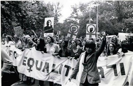 画像: 男女平等の労働環境-「ウーマン・リブ」