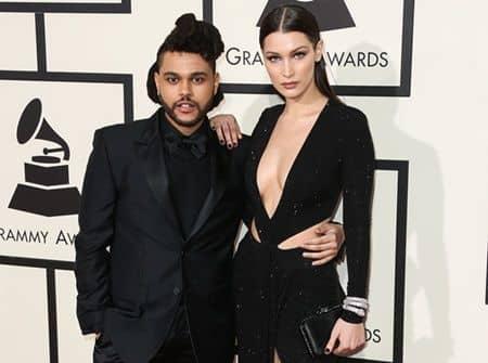ベラ・ハディッド ザ・ウィークエンド Bella Hadid The Weeknd ex couple