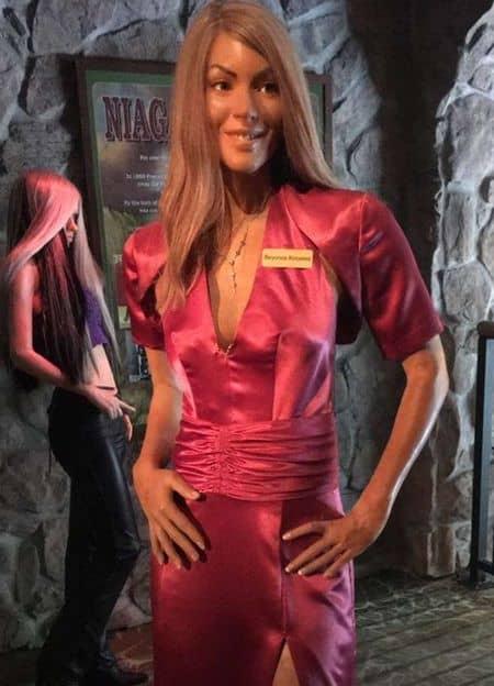ビヨンセ ろう人形 Beyonce Wax Dall Figure