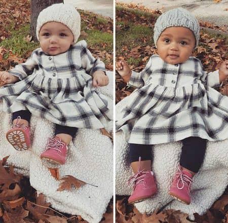 肌の色が違う双子 カラニ・ディーン ジャラニ・ディーン 赤ちゃん ベビー 二卵性双生児