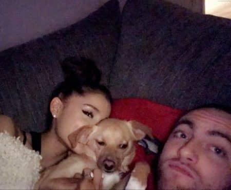 アリアナ・グランデ Ariana Grande マック・ミラー Mac Miller 2017 年末年始 犬