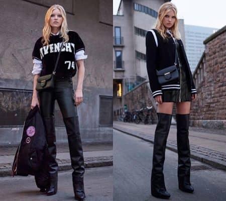 エルザ・ホスク Elsa Hosk ファッション ジヴァンシイ Givenchy 2017 プレフォール
