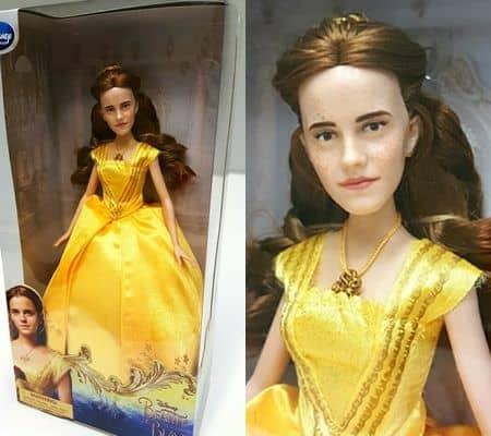エマ・ワトソン ベル人形 変身 美女と野獣 Emma Watson 似てない