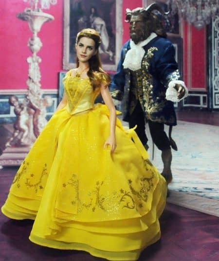 エマ・ワトソン ベル人形 変身 美女と野獣 Emma Watson