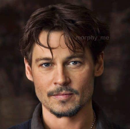 ジョニー・デップ Johnny Depp ブラッド・ピット Brad Pitt 合成写真