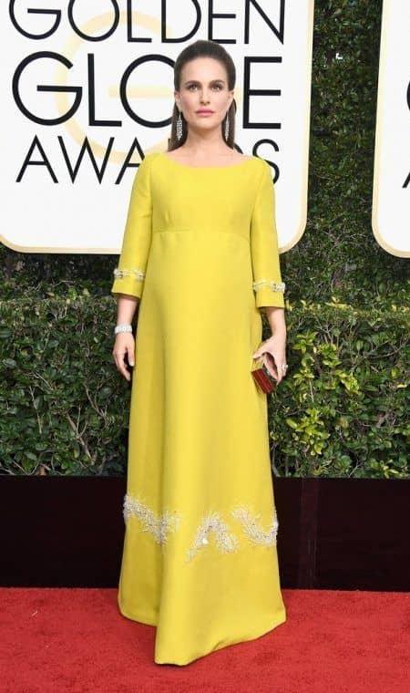 ナタリー・ポートマン Natalie Portman ゴールデン・グローブ賞 ドレス