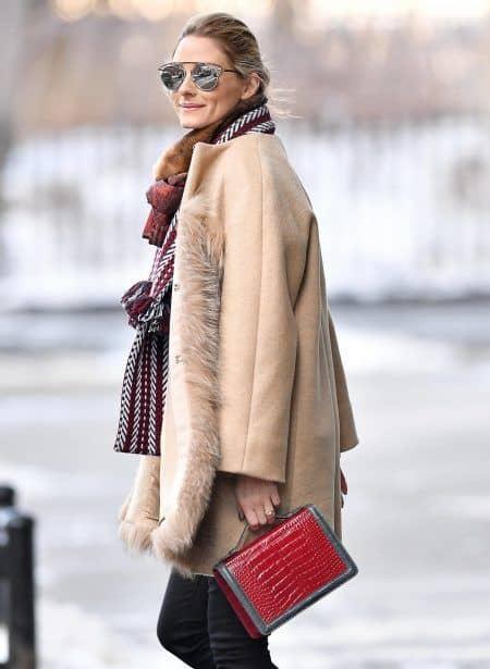 オリヴィア・パレルモ Olivia Palermo 冬 ファッション コーデ