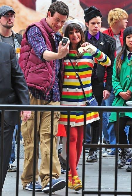 リア・ミシェル コリー・モンティス グリー Lea Michele Cory Monteith Glee