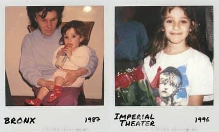 リア・ミシェル 思い出 インスタグラム Lea Michele Memory instagram